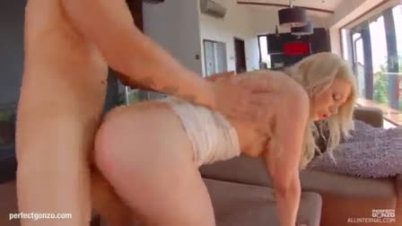 Pale girl from the slave with a big ass dahlia sky is ass fucked by her master