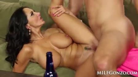 Surprisingly hot Nina steep walks pov dick and consumes cum